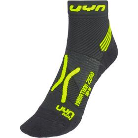 UYN Run Marathon Zero Socks Men black/yellow fluo